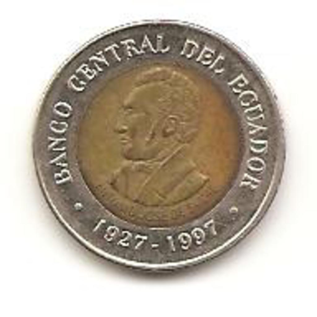 100 sucre de 1997 Ecuador  Image