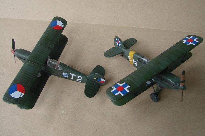 Avia B-534 serieIV., KP i RSmodels, 1/72 DSC00158