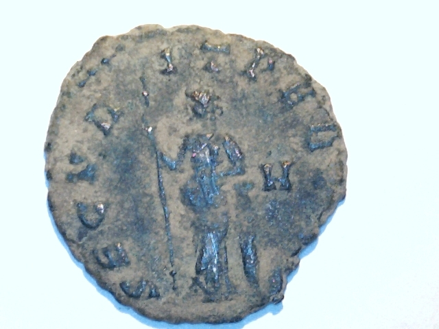 Antoniniano de Galieno. SECVRIT PERPET. Ceca Roma. 4_20mm