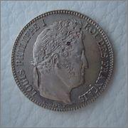 1 Franc 1848 A Louis Philippe I, FRANCIA  Image