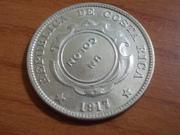 1 Colón resellado de 1.923 , Costa Rica DSCN0933