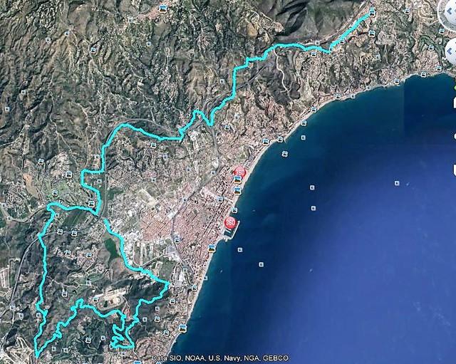 Mis rutas de la semana en e-bike Ben._cerro_las_aguilas-ben