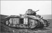 Камуфляж французских танков B1  и B1 bis Char_B1bis_44_Charente