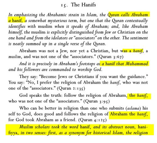 la Religion de Mahomet avant sa prophétie: UN HANIF Mahomet_hanif1