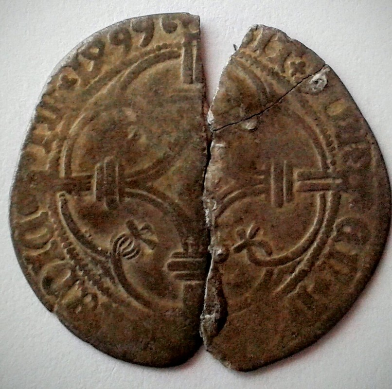 patard (stuiver) de Felipe el Hermoso de 1499. Condado de Holanda, ceca de Dordrecht. 20161022_123701_2