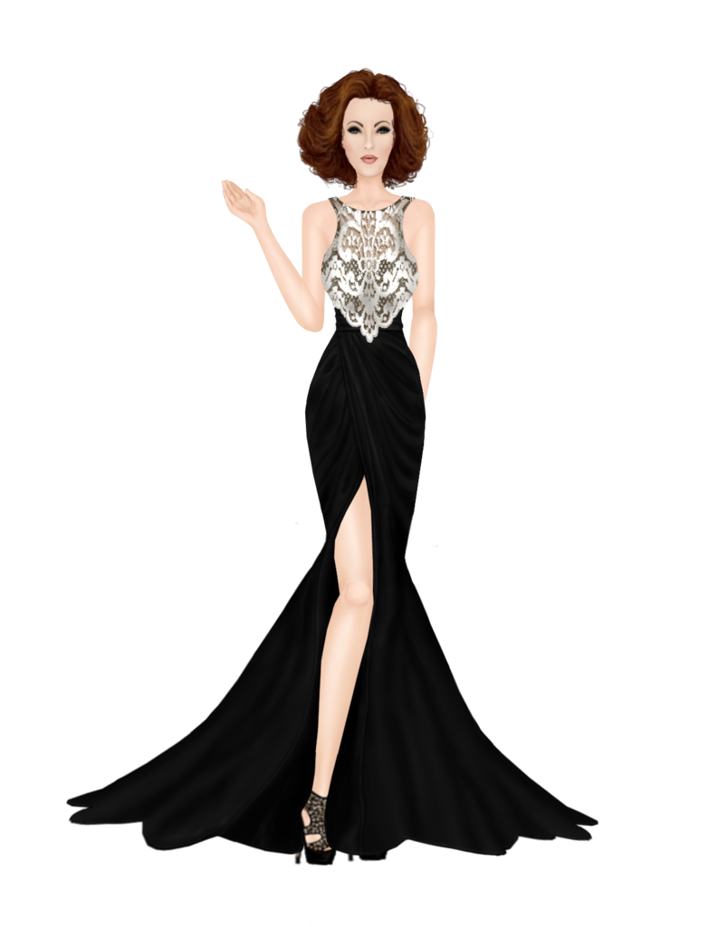 Outfits Long_black_lace_gown_outfit