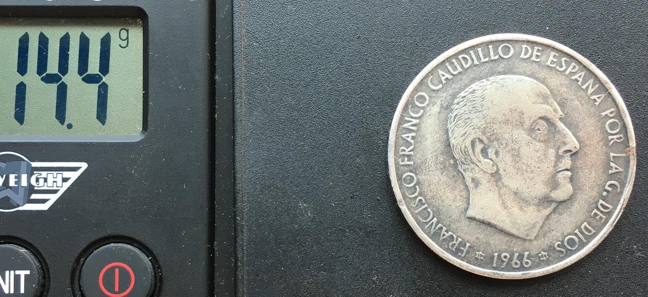 100 pesetas 1966 (*19-??). Estado Español. IMG_8974