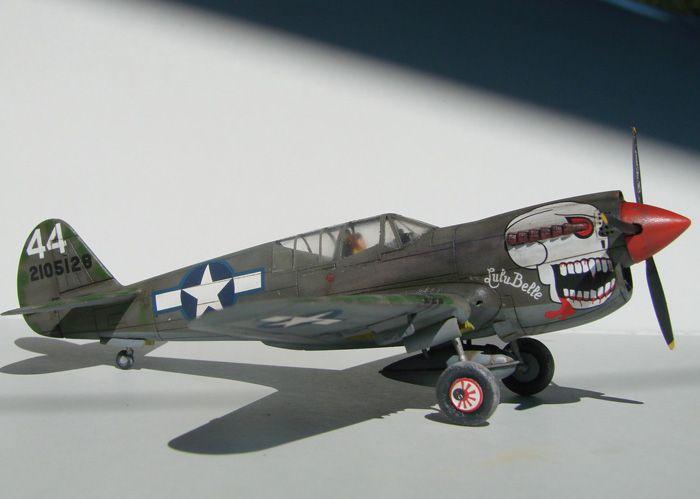 P-40N(rebuild), Hasegawa, 1/72 DSC03740