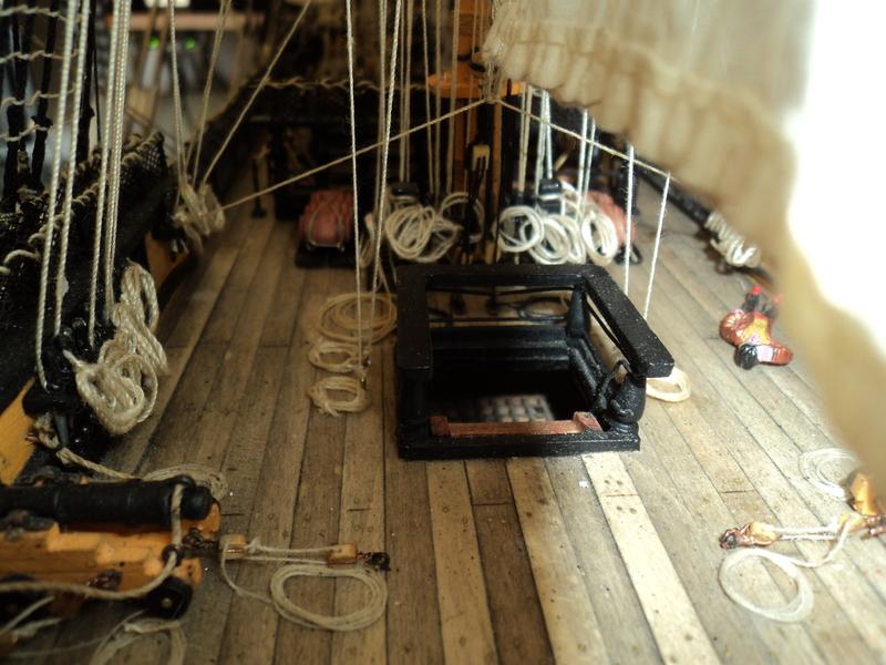 constitution - Lavori terminati, USS Constitution, Soleil Royal, HMS.Victory. DSC04547