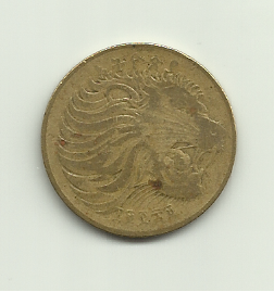 Monedas con leones 10_santim_de_etiopia