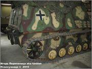 """Немецкая 15,0 см САУ """"Hummel"""" Sd.Kfz. 165,  Deutsches Panzermuseum, Munster, Deutschland Hummel_Munster_156"""