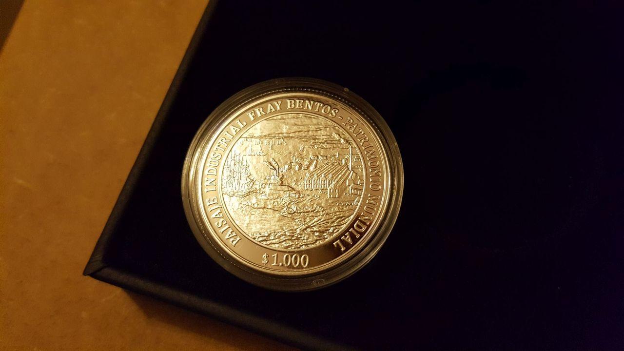 Monedas conmemorativas de Uruguay acuñadas en plata 1961 - Presente. - Página 2 20170706_221302