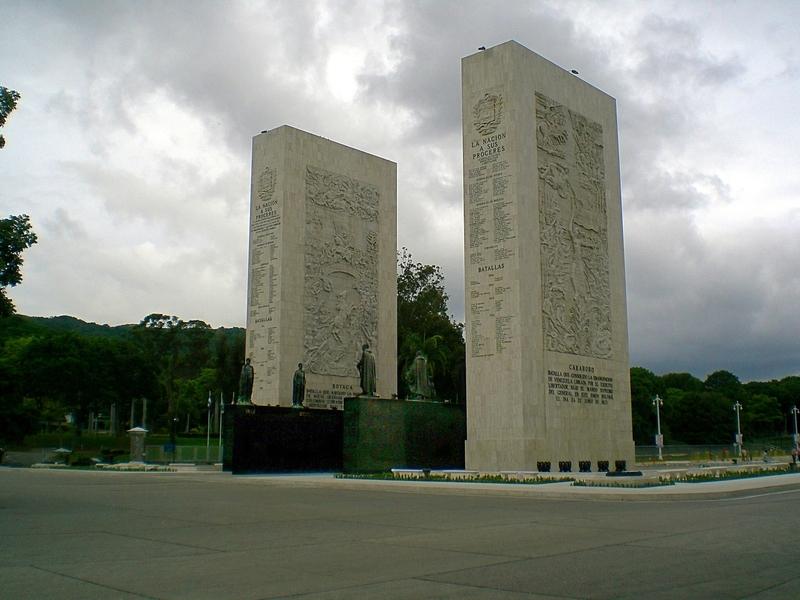 BILLETE DE 2 BOLIVARES, VENEZUELA 2011 MONUMENTO_A_LOS_PROCERES_CARACAS_VENEZUELA