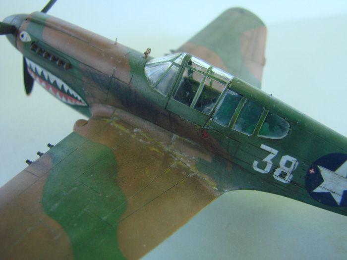 P-40E, Hobby Boss, 1/72 DSC03370