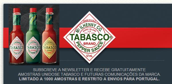 Amostras Tabasco Portugal - Ketchup - 1000 Amostras, sejam rápidos!!! -   Tabasco