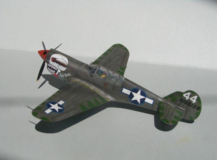 P-40N(rebuild), Hasegawa, 1/72 DSC03737