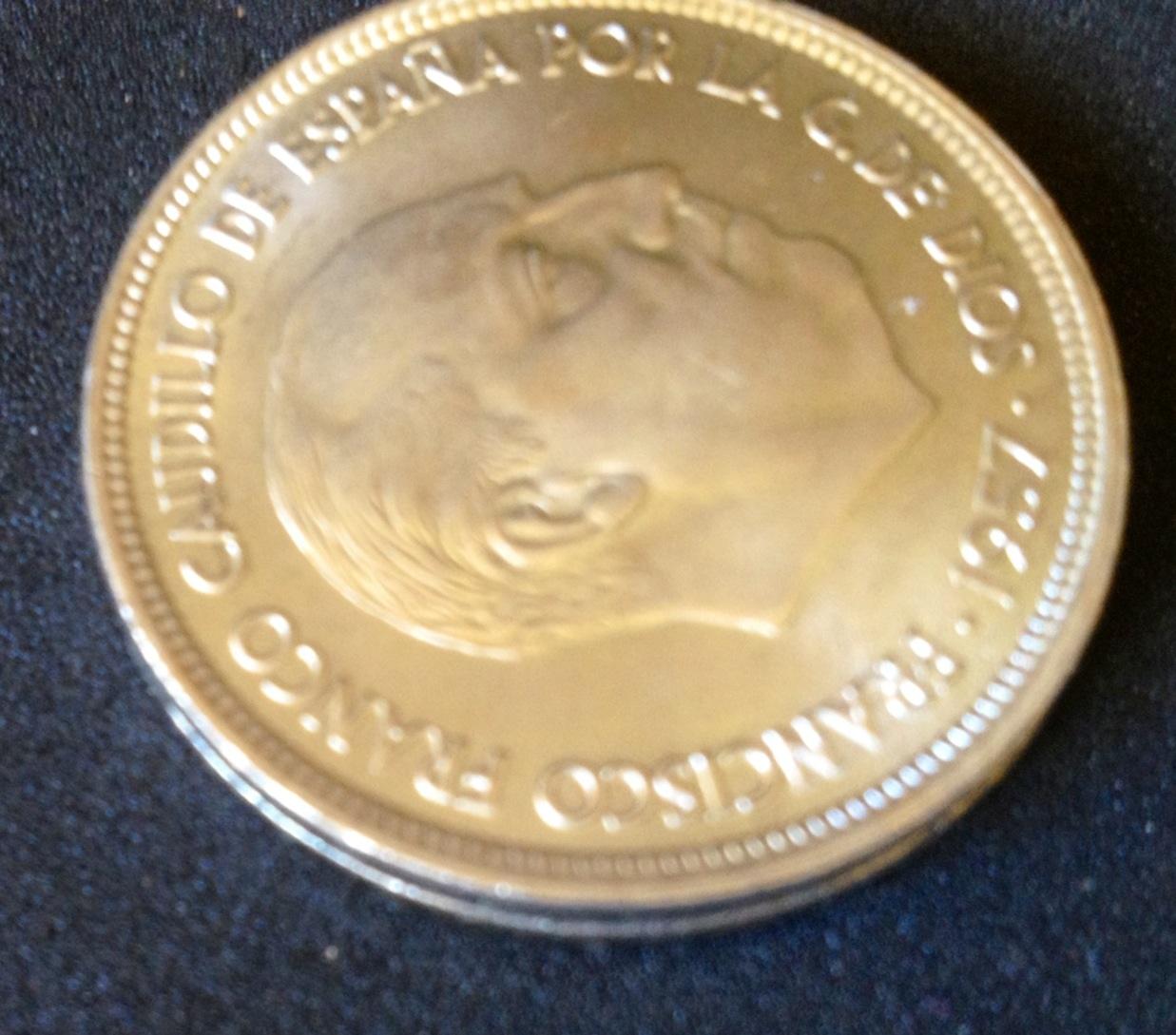50 pesetas 1957- Estado Español-Adivinanza Image