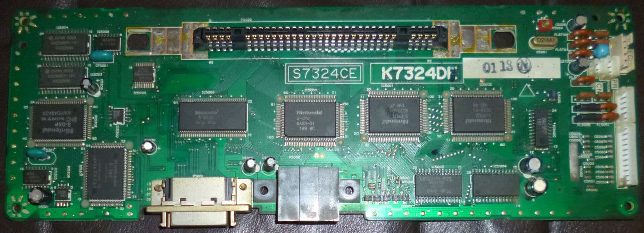 SF1 Sharp Nintendo SFC, son ok mais pas d'image, please help me! PCB_SF1