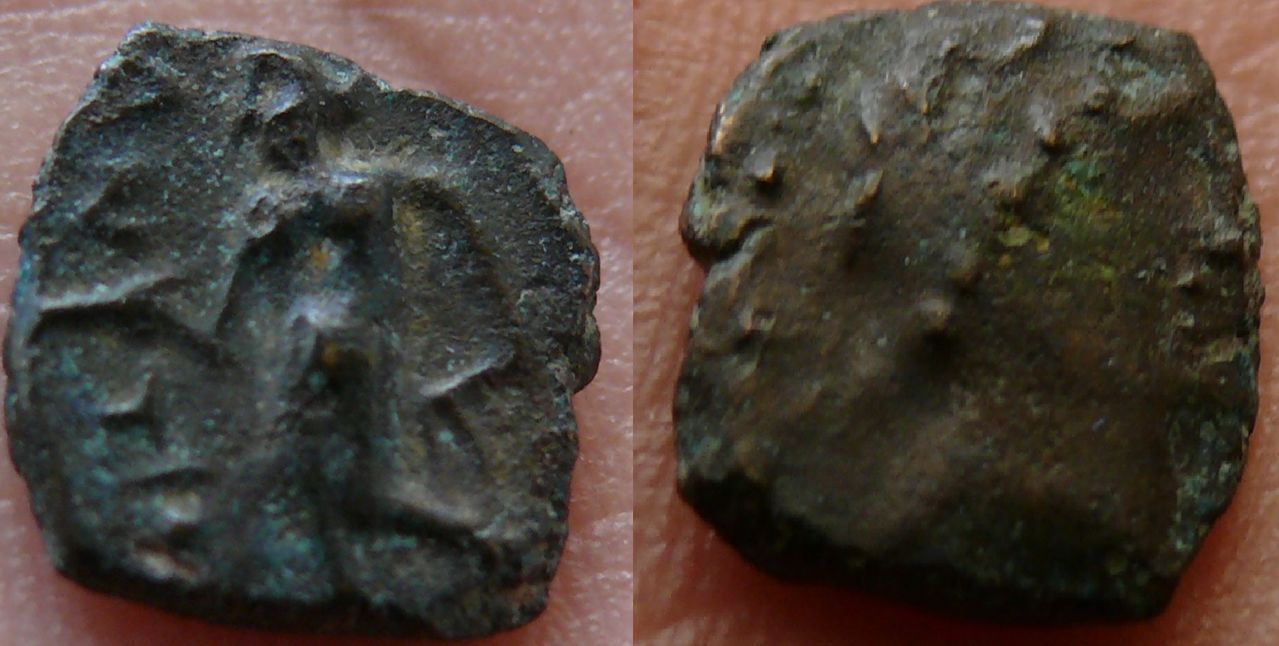 AE10 de Antíoco III. Seleucia. 223-187 a.C. Seleucida