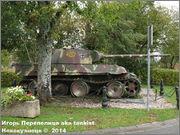 "Немецкий тяжелый танк PzKpfw V Ausf.G  ""Panther"",  rue D'Erezee, Manhay, Belgique Panther_Manhay_074"