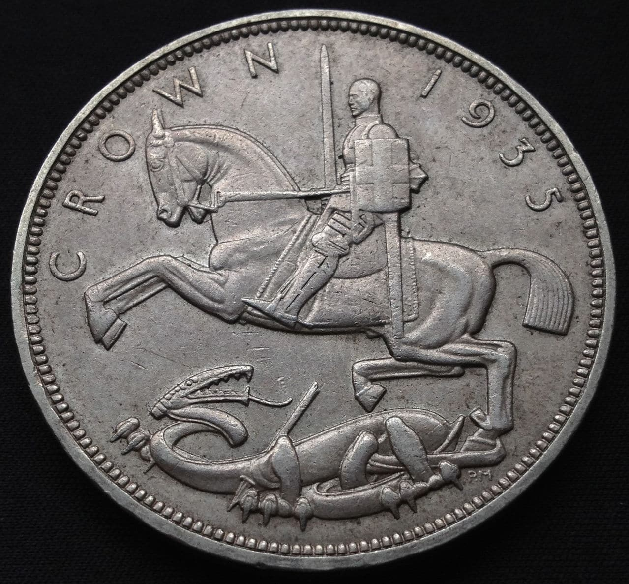 1 corona 1935 -Jorge V IMG_2778
