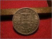 20 Halierov. ESLOVAQUIA. 1943  P9110029