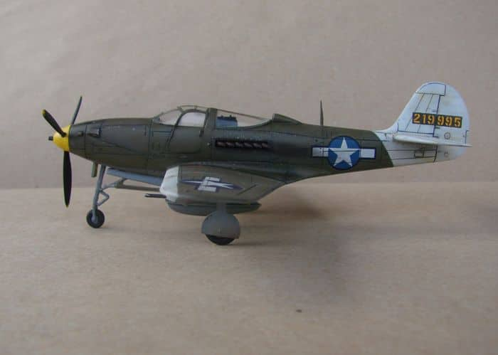 P-39Q Airacobra, 1/72, Academy (rebuild) DSC02936