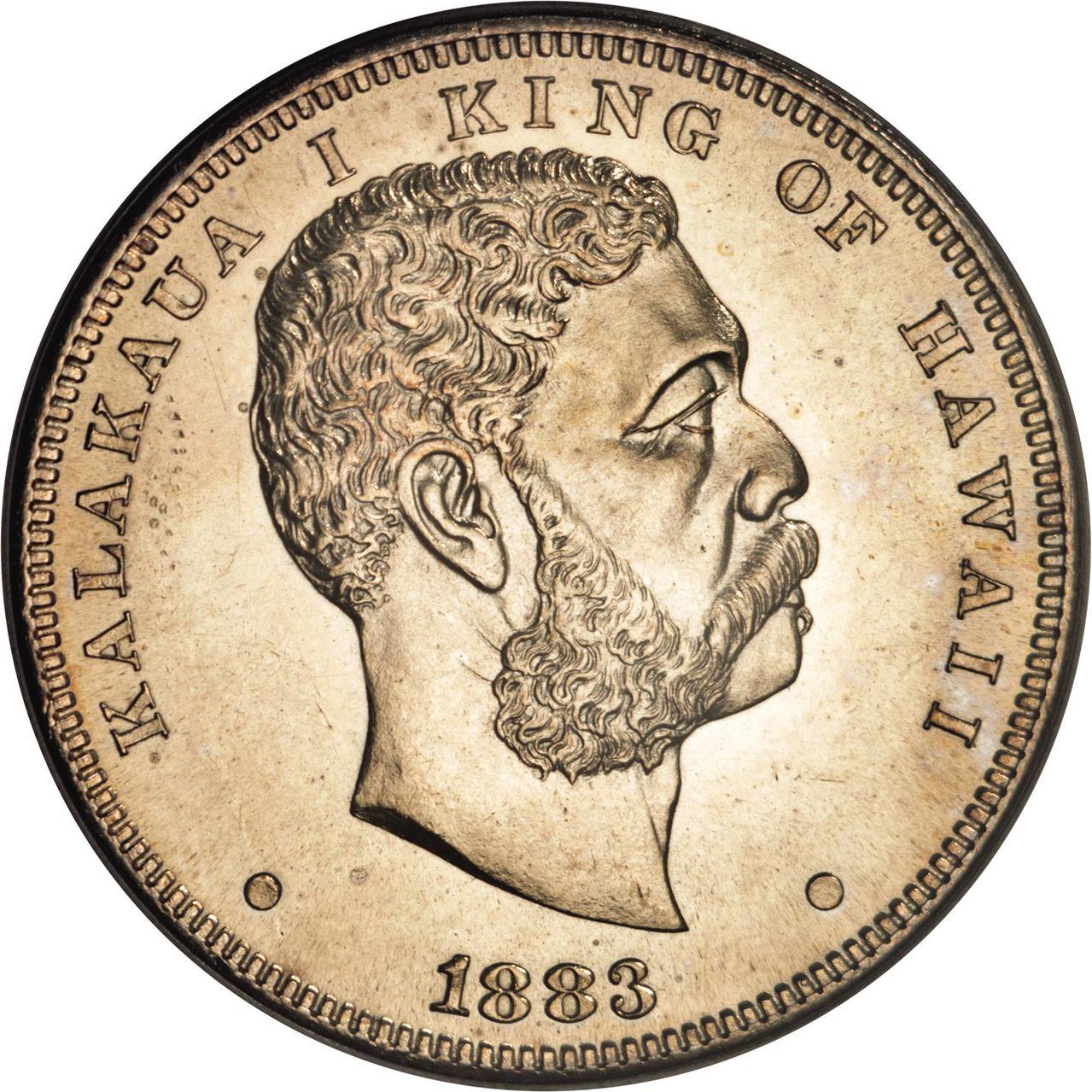 reproduccion 1 dolar de hawaii 1883 G30