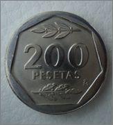 200 pesetas 1988 Juan Carlos I  Image