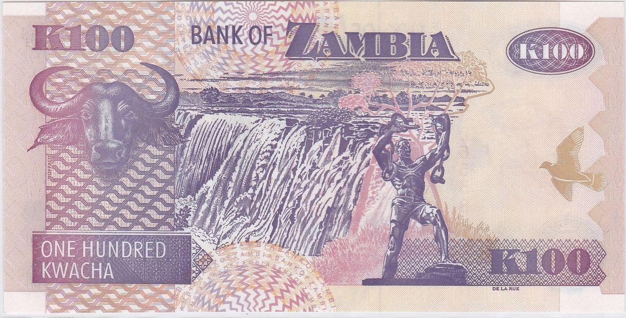 100 kwacha, Zambia (2009) Zambia_100_kwacha_2009_R