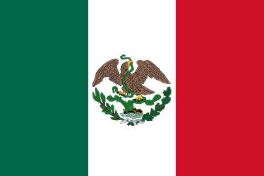 2 Pesos. México. 1945  Flag_of_Mexico_1823_1864_1867_1968