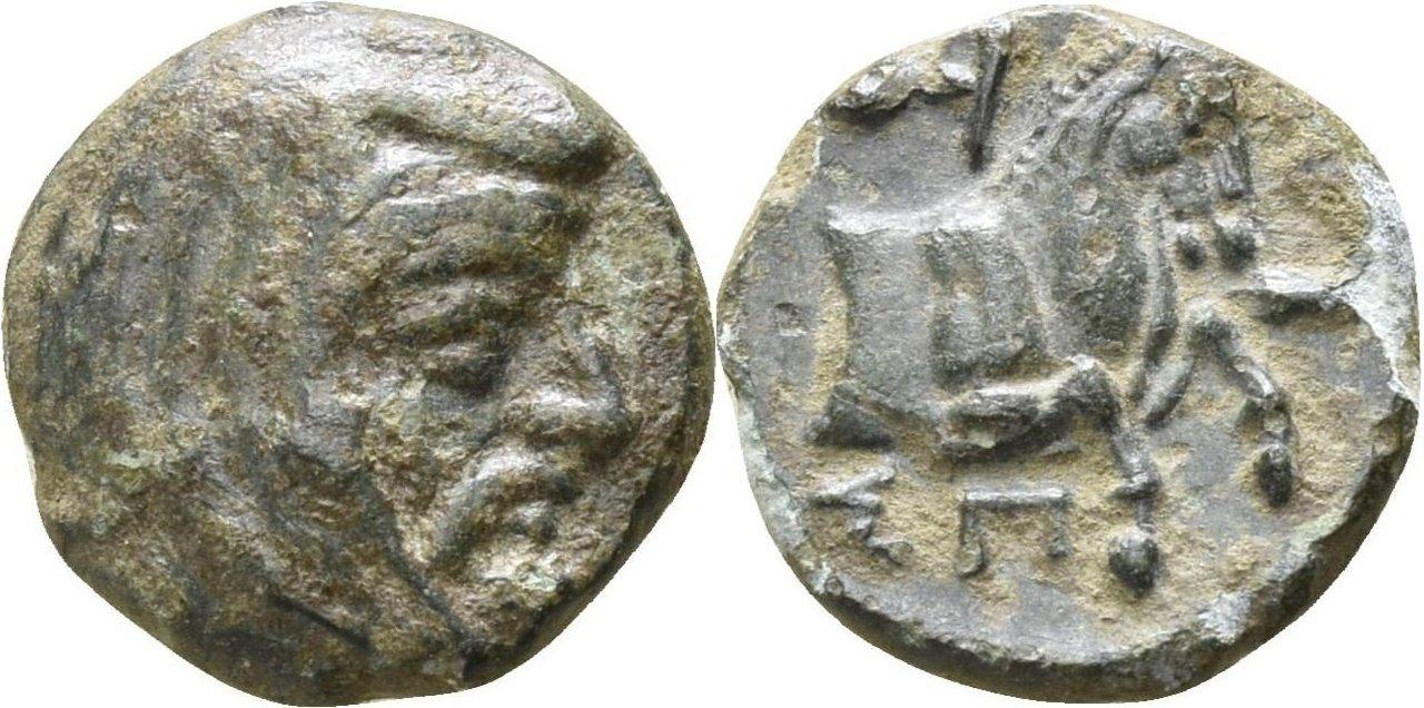 Bronce Æ10. Jonia. Periodo Aquemenida. Espitrídates.  334 a.C. 84482