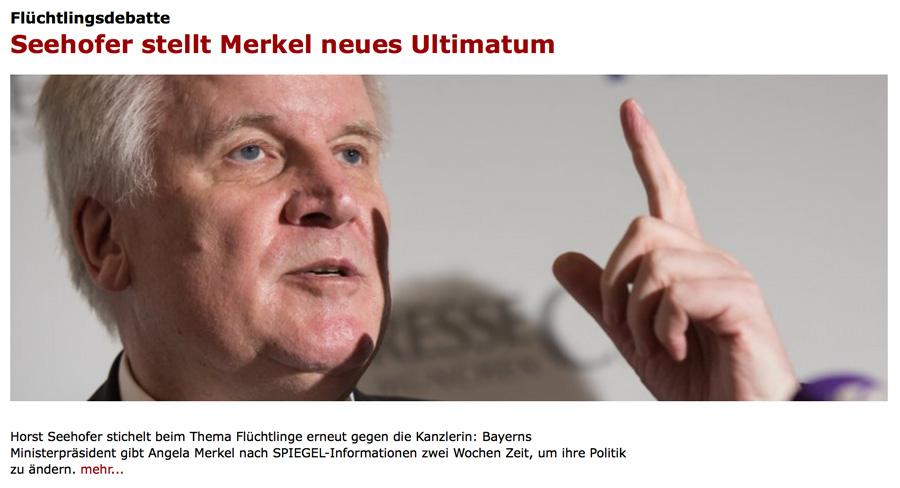 Allgemeine Freimaurer-Symbolik & Marionetten-Mimik - Seite 4 Seehofer