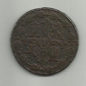 8 maravedis 1785. Carlos III. Segovia. 8_maravedies_carlos_III_1785_segovia_rever