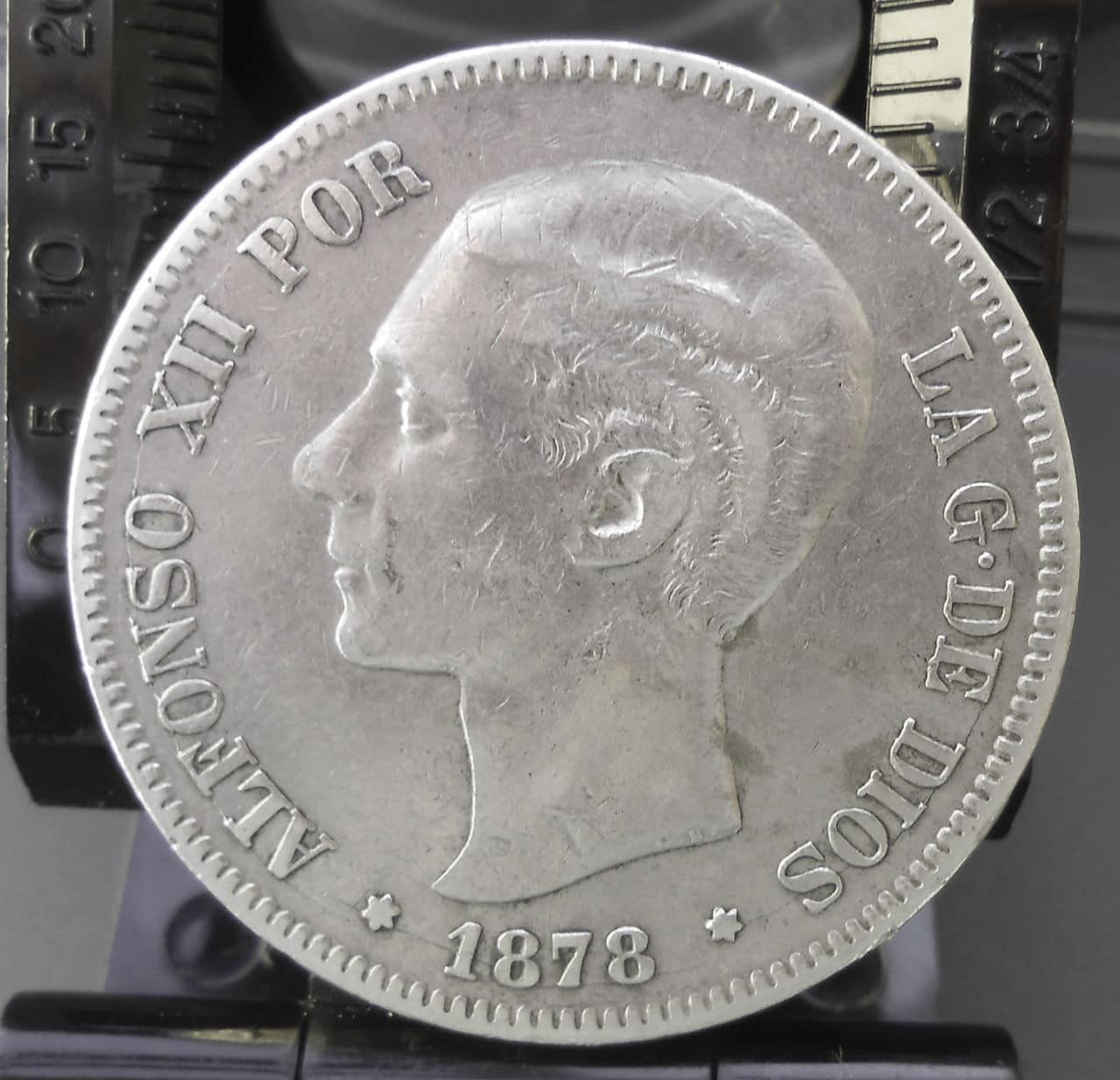 5 pesetas Alfonso XII -1878 DSCN1463
