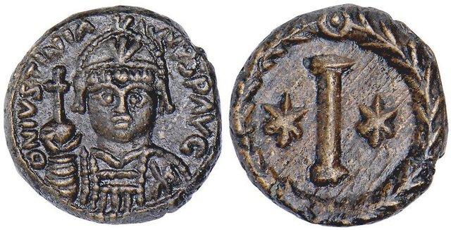 Denominación de las monedas de Bizancio. 1ª parte 10_nummi