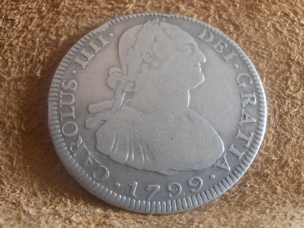 4 reales 1799. Carlos IV. Potosí  P9020008