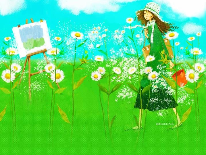 Корейская художница Christian Asuh F94bbd6abd46