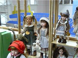 Время кукол № 6 Международная выставка авторских кукол и мишек Тедди в Санкт-Петербурге - Страница 2 2c8429e444c2t