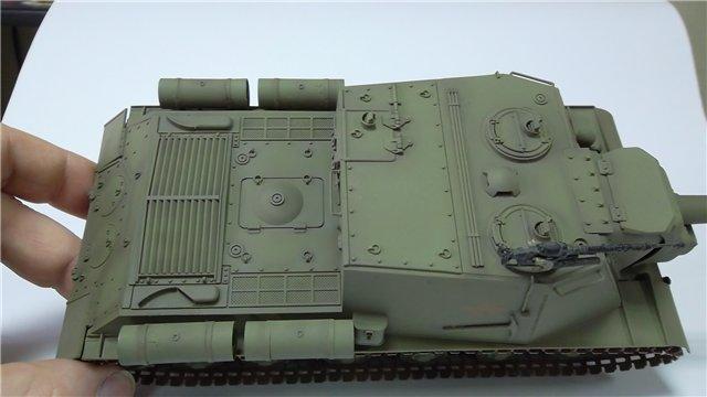 """ИСУ-152 """"Зверобой"""", 1/35, (Звезда 3532) перекраска старой модели. C683d29a4cc8"""