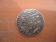 Jetón holandés. Plata. Año 1600. Dordrecht. Rendición del Fuerte de San Andrés DSC04051
