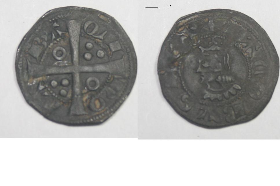 Croat de Jaime II (Barcelona, 1291-1327). Dibujo