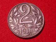 2 Heller. Austria. 1918 032