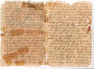 50 Céntimos 1910 (1-0). PCV. Alfonso XIII. La despedida del soldado. Carta_antigua_2_1