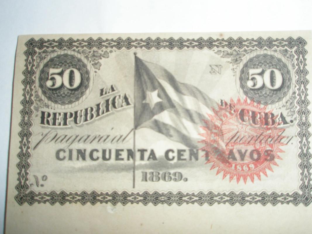 50 centavos Cuba 1869 P8160240