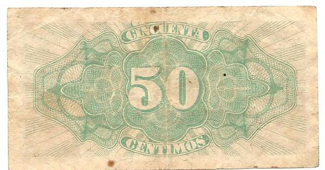 billete de 50 céntimos de 1937 Image