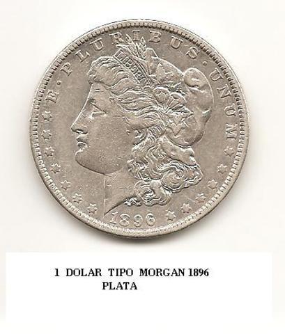 dolar usa  Morgan  año 1896 1_DOLAR