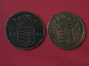 10 Poltura. Hungria. 1705 P9135295