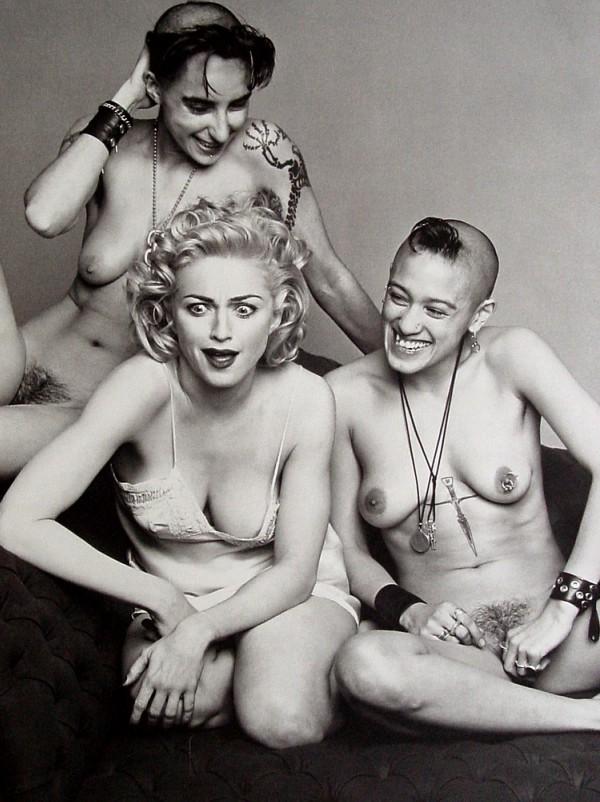 SEX >> El libro del escándalo (Fotografía Steven Meisel) NSFW +18 Image
