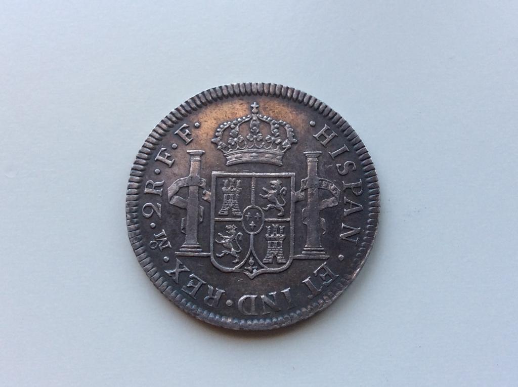 2 Reales de Carlos III  1782 , ceca de Mexico F F IMG_4181